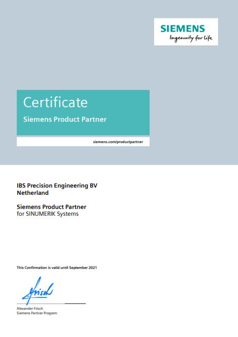 IBS PE Siemens Partner (2021)
